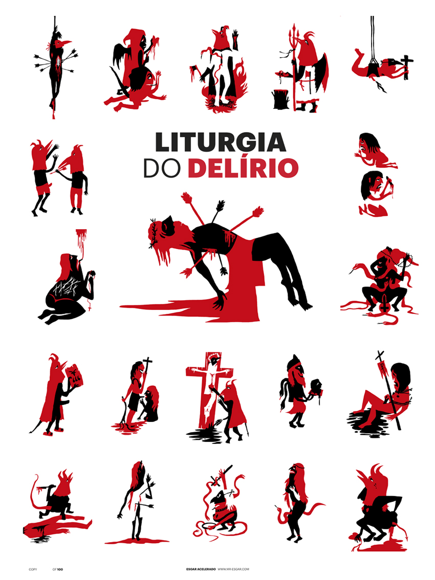 Mr Esgar - Liturgia do Delírio 2 - Poster